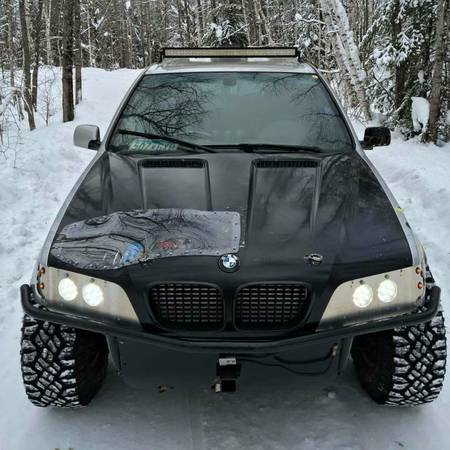 Find This 2002 BMW X5 Custom Offroader With Turbo LS Swap Offered For 12500 In Shoreview MN Tip From Prashant