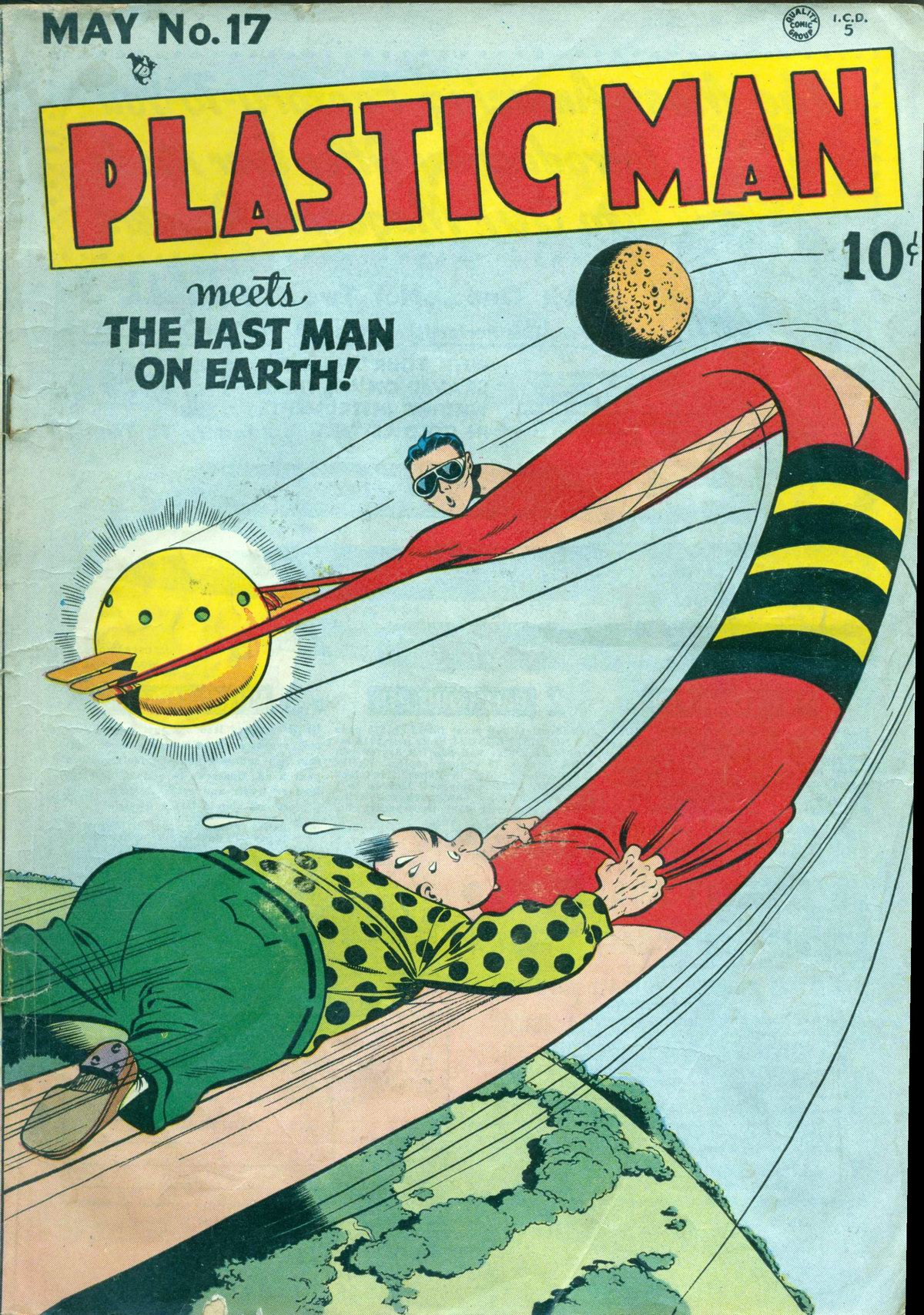 Plastic Man (1943) 17 Page 1