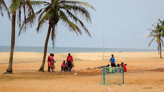 Togos beaches are not that busy when comparing them to Ghana