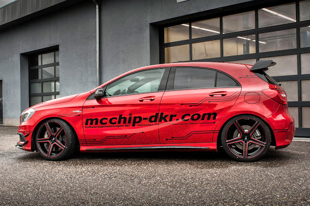 mercedes a 45 performance