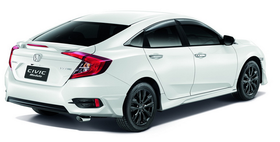 Honda Civic 2016 Malaysia warna putih
