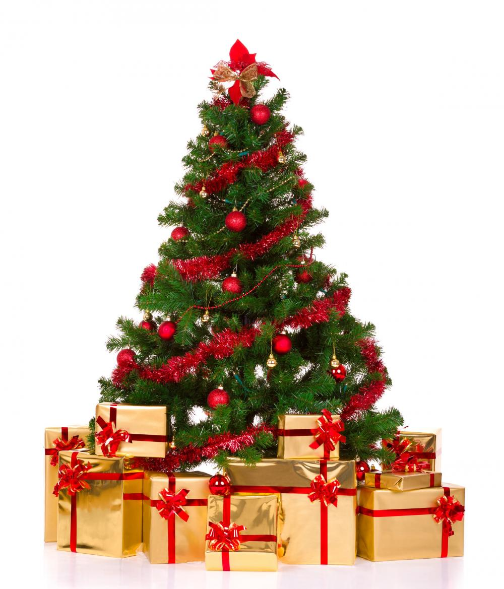 Picture Of Christmas Tree With Presents: Christmas Wallpapers And Images And Photos: 3d Christmas
