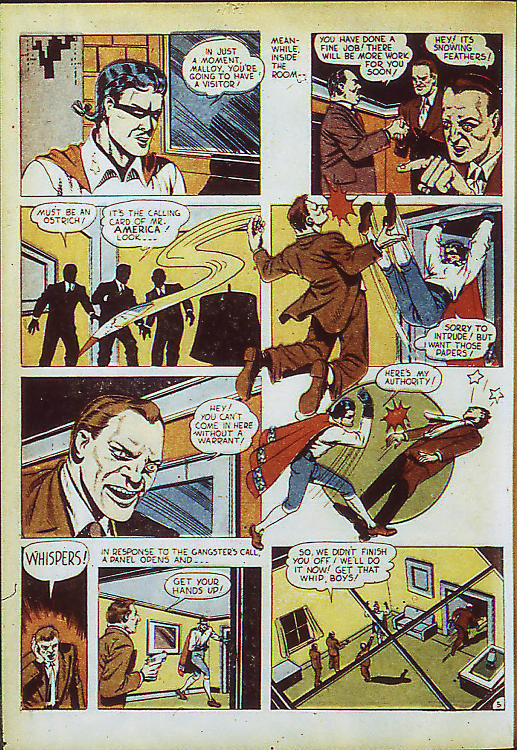 Read online Action Comics (1938) comic -  Issue #41 - 43