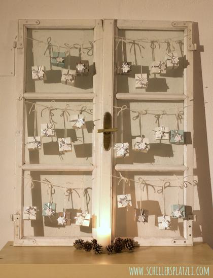 schiller 39 s platzli advent advent der adventskalender ist fertig. Black Bedroom Furniture Sets. Home Design Ideas