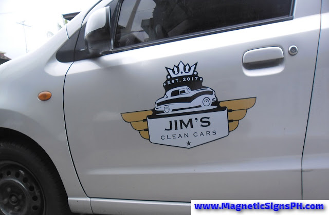 Waterproof Car Door Magnet - Jim's Clean Cars
