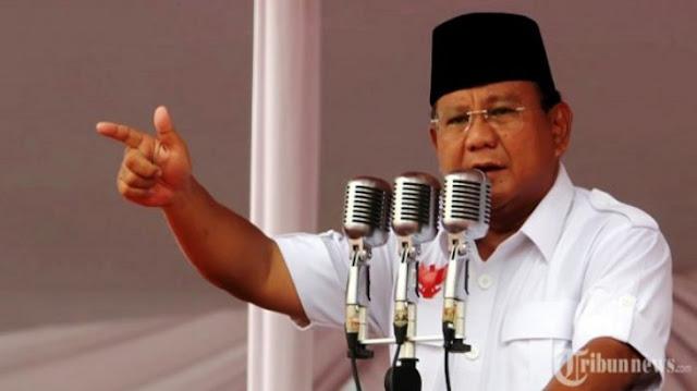 Prabowo: Saya Tidak Rela Segelintir Orang Di Jakarta Mencuri Kekayaan Rakyat
