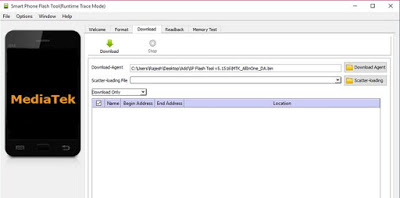 cara reset alcatel one touch flash plus