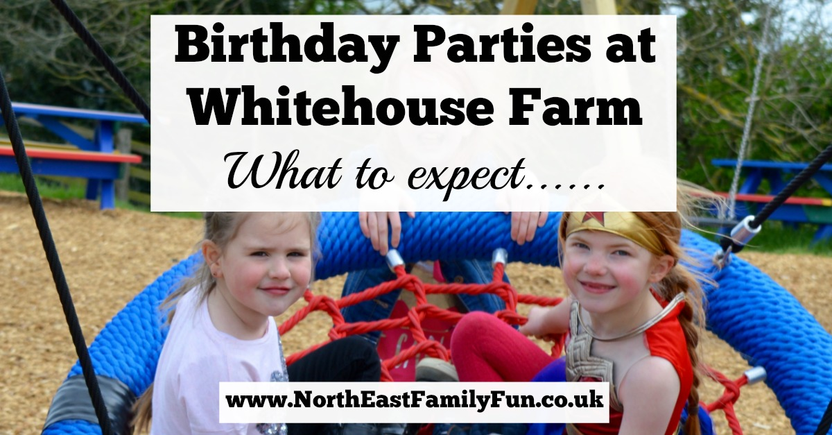 Birthday Parties at Whitehouse Farm in Northumberland | What to expect & review