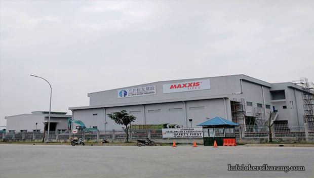 Lowongan Kerja PT. Maxxis International Indonesia Maret 2018