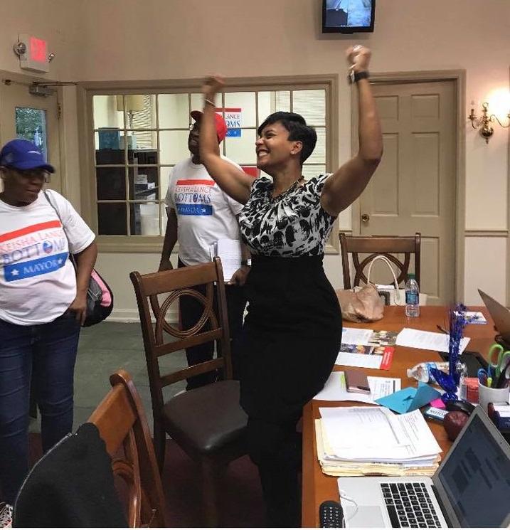 Mayor Kasim Reed Atlanta >> Keisha Lance Bottoms to Join Legacy of HBCU-Educated Mayors Governing the City of Atlanta | HBCU ...