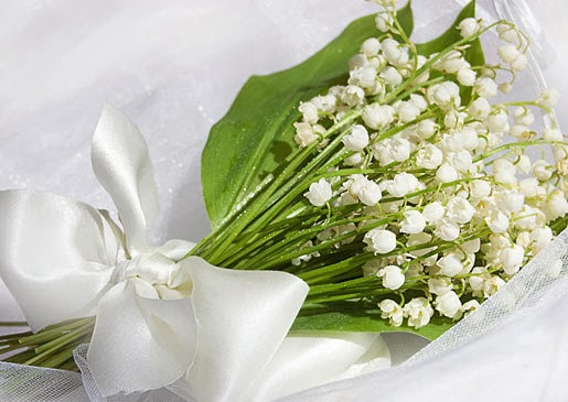 Lily Of The Valley Wedding Bouquet: Flower Homes: Top 10 Wedding Flowers