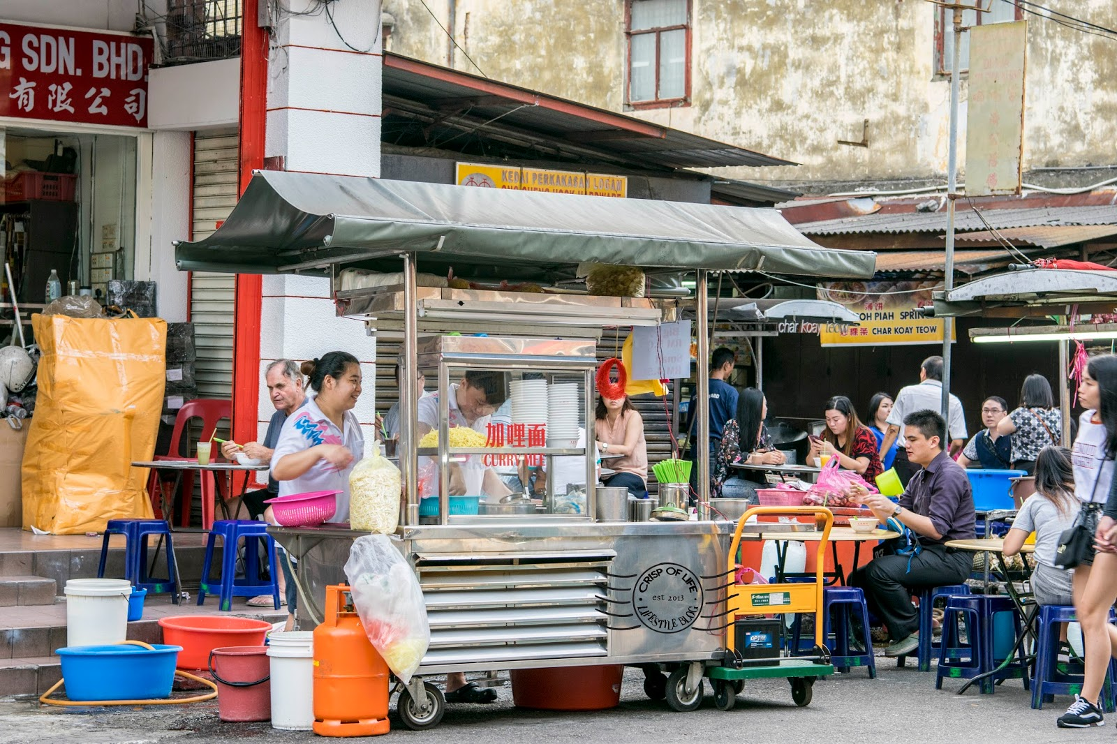 Chulia Street Food Trail: Chulia Street Night Hawker
