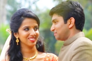 Akhila & Alan Engagement Highlights