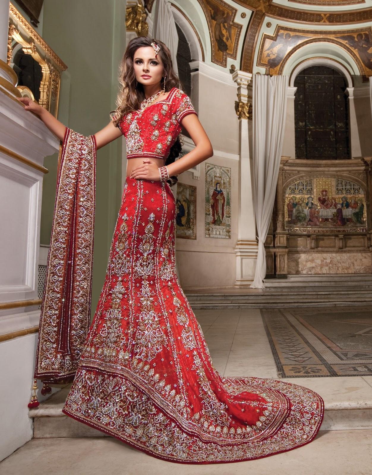Latest and Stylish Indian Bridal Lehenga Designs 2017 for ...