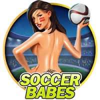 Soccer Babes slot game - Spinomenal