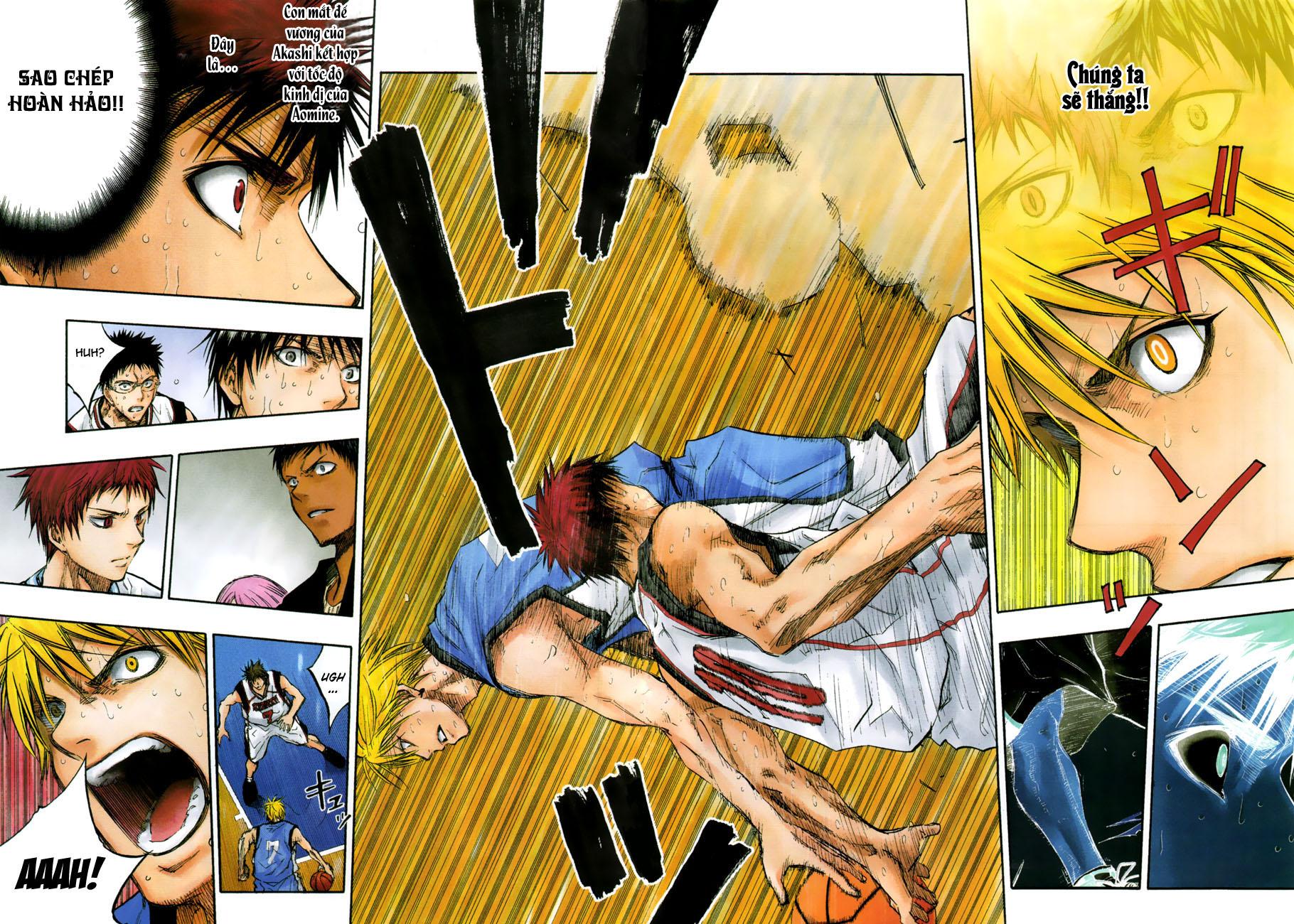 Kuroko No Basket chap 196 trang 7
