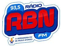 Rádio RBN - Bahia Nordeste FM 93,5 Paulo Afonso BA