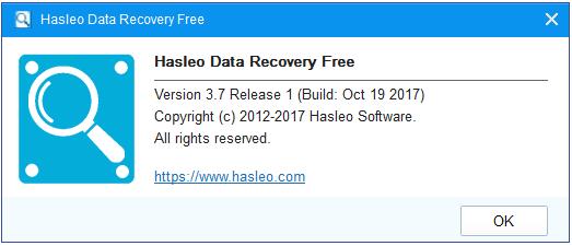 تحميل برنامج استرجاع الملفات المحذوفة Hasleo Data Recovery آخر إصدار