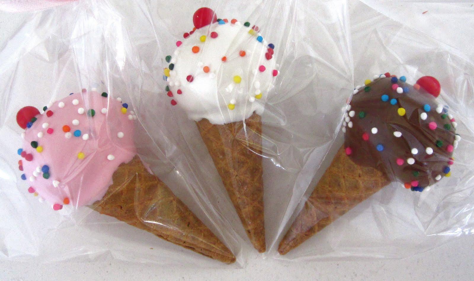 Ice Cream Cone Crispy Treats - Lindsay Ann Bakes