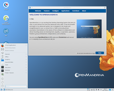 OpenMandriva Lx 3.02 Has Released, Bring New Kernel 4.11.3