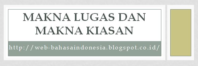 Image result for makna lugas