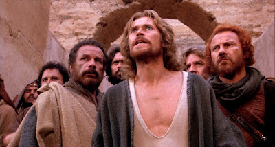 willem dafoe as jesus christ, harvey keitel as judas, the last temptation of christ