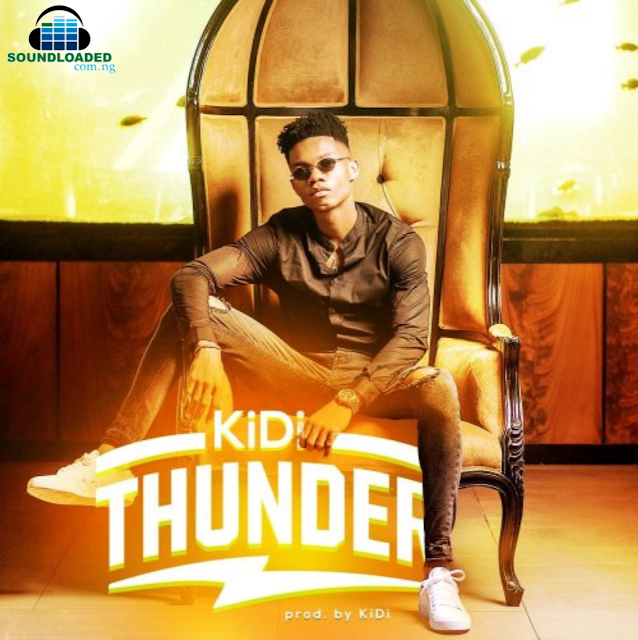 Ghanaian singer-songwriter and producer, KiDi comes through with another banger titled 'Thunder.'   KiDi follows on from his two smash hits 'Adiepena' and 'Odo' which were massively successful.     RELATED: KiDi – Odo (Remix) ft Mayorkun & Davido Thunder was self-produced by KiDi.