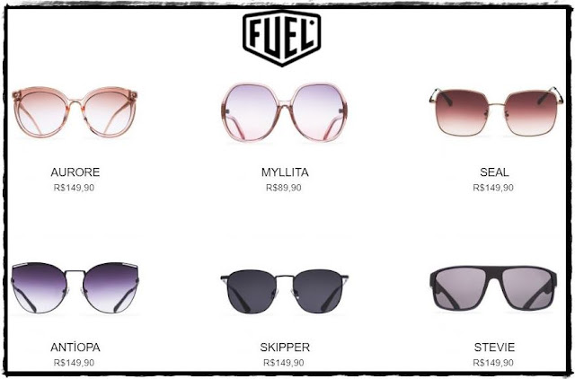 Óculos de Sol Feminino - Fuel Eye Wear