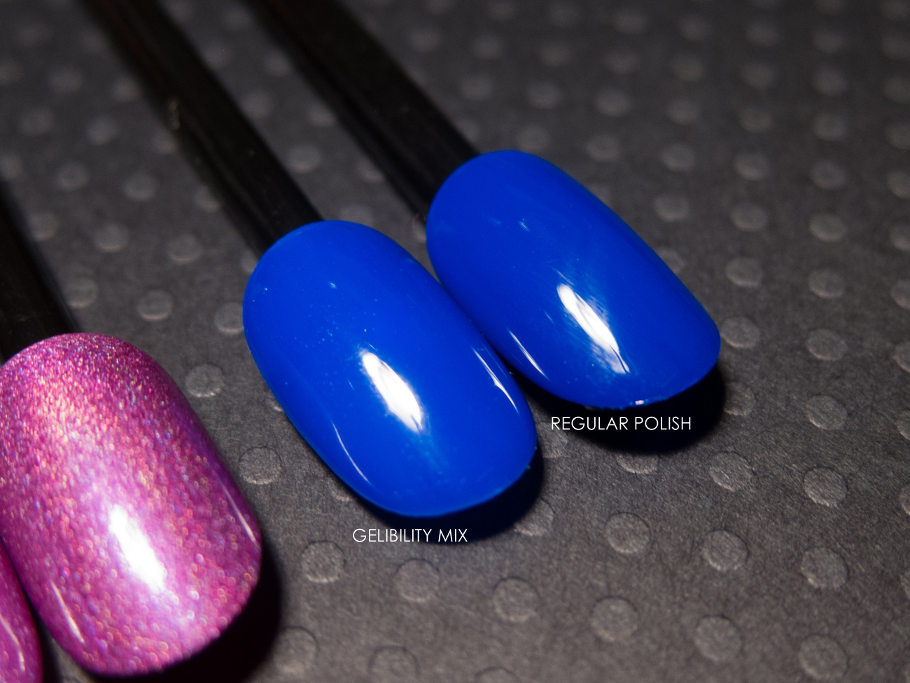 Cirque - NYFW as a gel polish via @chalkboardnails