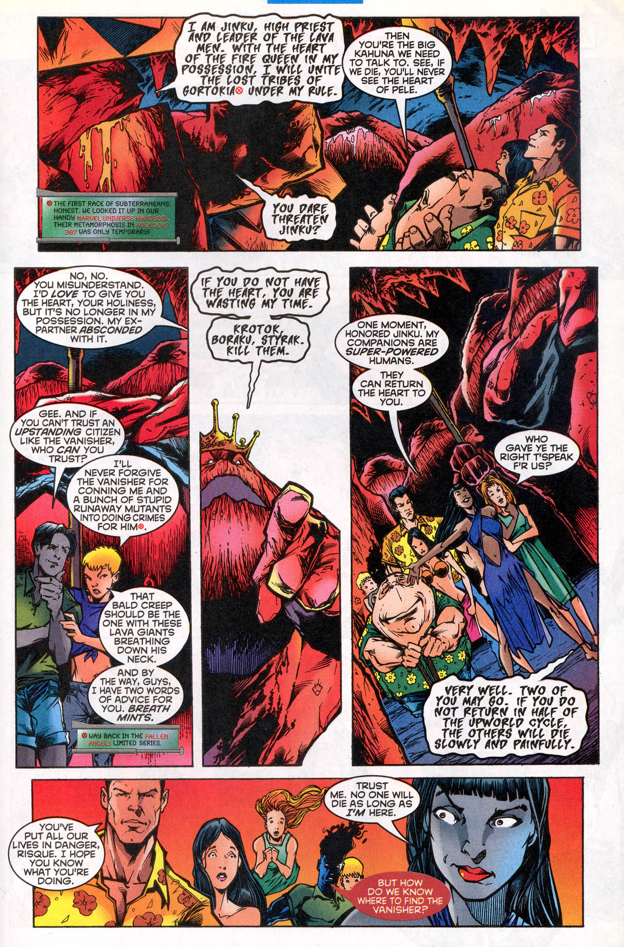 Read online X-Force (1991) comic -  Issue #81 - 23