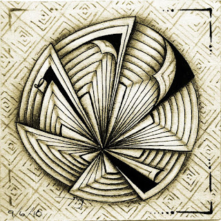 Summer Tangles 2018 with August 30 - DL Labyrinth and September 1 - Maryhill and Square One week  August 31 to September 6 with PeelD