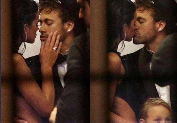 PSG: la  folle soirée d'anniversaire de Neymar avec sa copine Bruna (Photos)