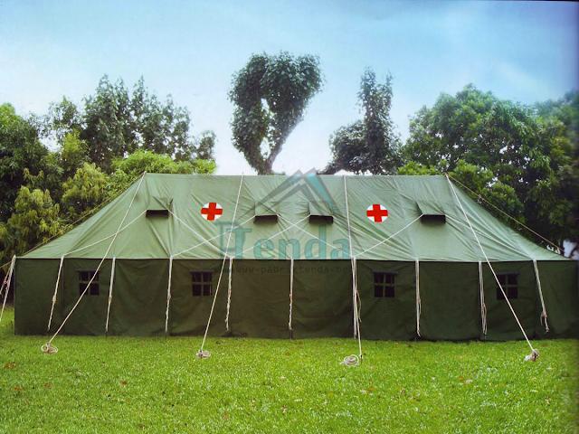 Pabri tenda , tenda peleton PMI