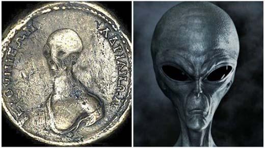 ¿Podrían estas monedas antiguas demostrar que extraterrestres convivieron en el pasado distante con los egipcios?