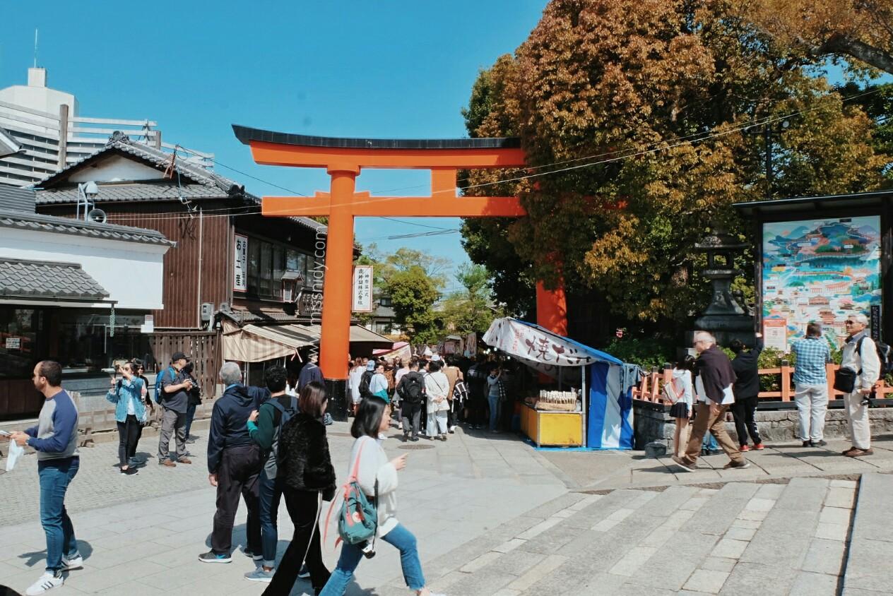 pengalaman ke fushimi inari kyoto