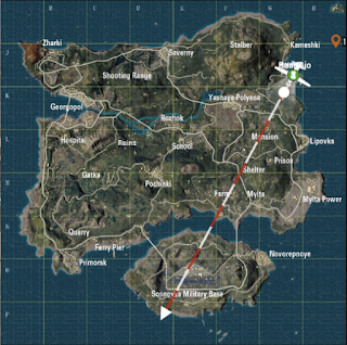 5 Tempat Bar Bar Di PUBG Mobile Khusus Map Erangel