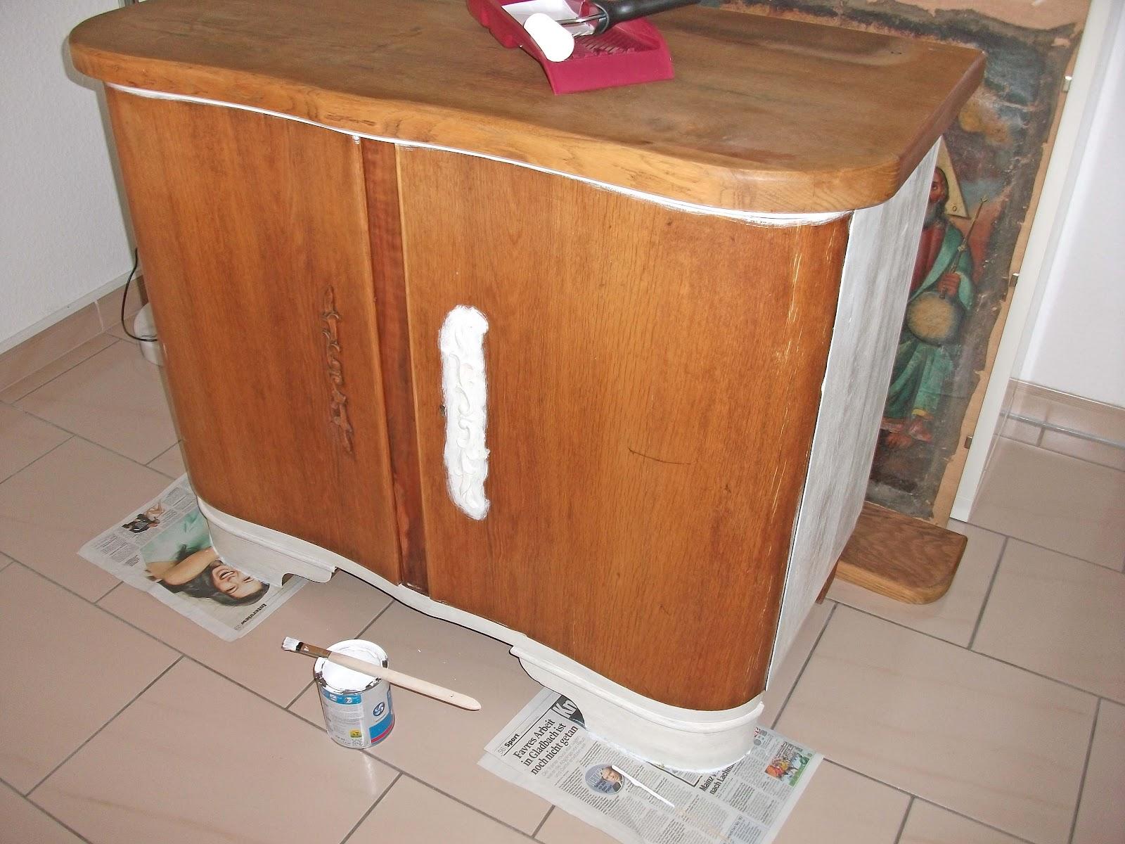 schilli fashion handmade shabby chic kommode streichen. Black Bedroom Furniture Sets. Home Design Ideas
