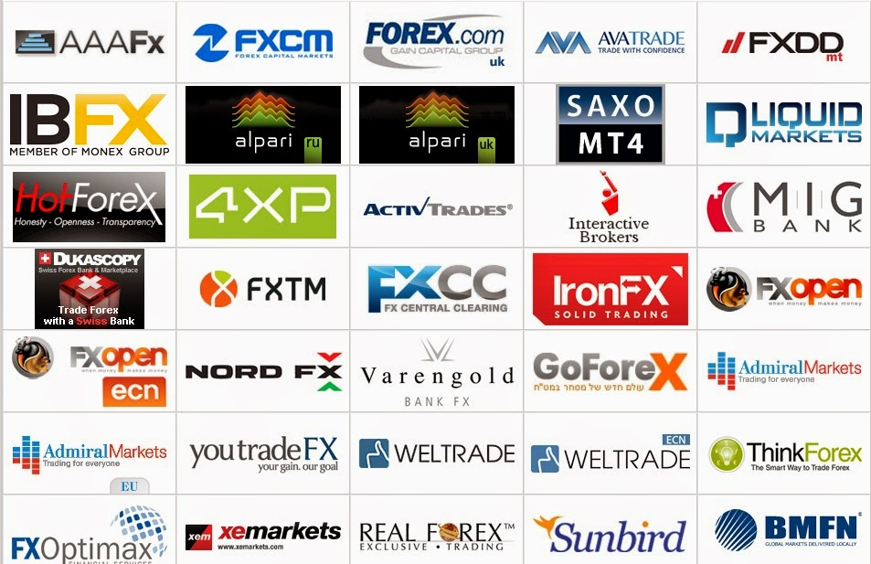 Registered forex brokers