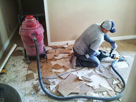 Phoenix Tile Floor Removal Dust And Debris Free