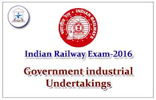 List of Government industrial Undertakings for Railway Exams