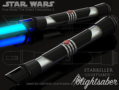 RO-LIGHTSABERS: Starkiller TFU2 Lightsaber