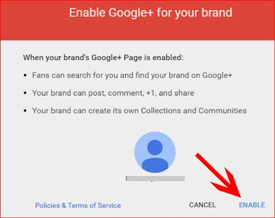 create google plus business page