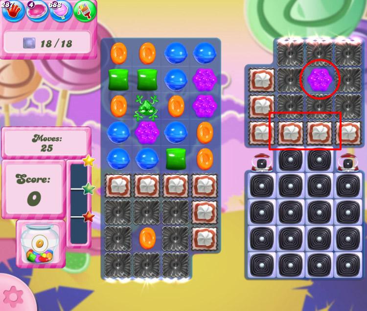 Candy Crush Saga level 2759