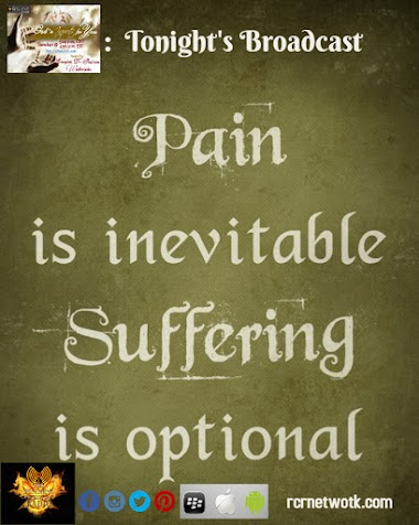 Pain is.....