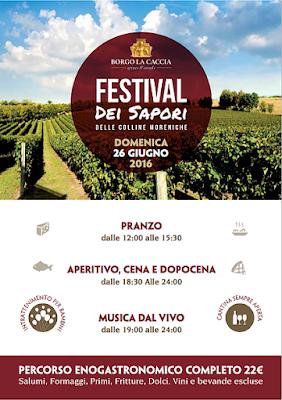 Festival dei Sapori delle Colline Moreniche  24 giugno Pozzolengo (BS) 2016