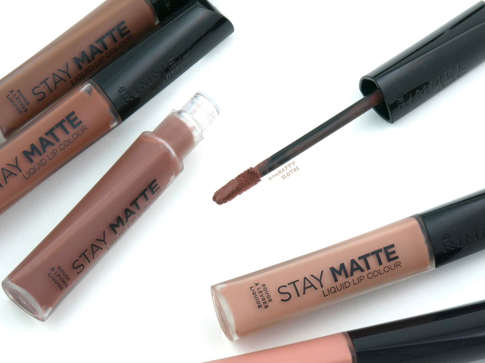 Rimmel London | *NEW SHADES* Stay Matte Liquid Lip Colour: Review and Swatches