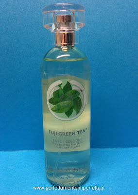 acqua di colonia tè verde the body shop fuji green tea