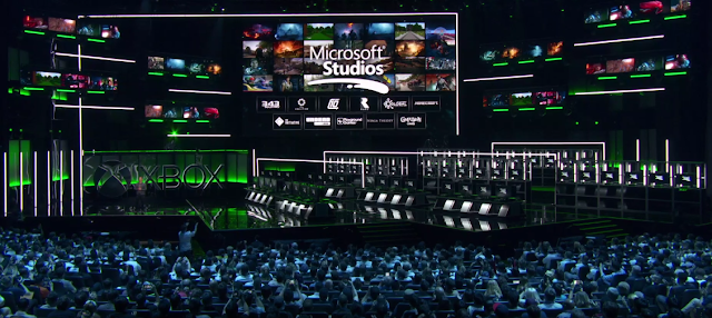 Microsoft Studios first party acquisitions E3 2018 Ninja Theory Compulsion Games Playground Initiative Undead Labs