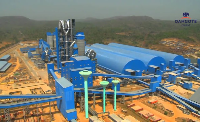 World S Largest Cement Plant : Construction begins on major cement plant in nigeria