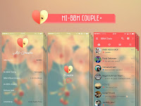 Downlad BBM MI-Couple V.2.12.0.9 Apk terbaru gratis